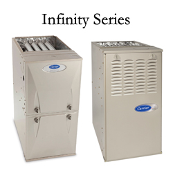 Carrier Infinity Series Gas Furnaces